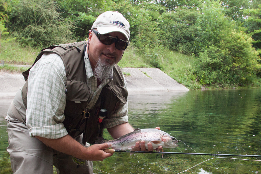Guided fly fishing for trout and grayling www for Fly fishing near me